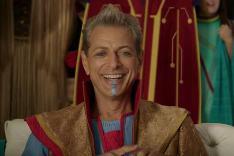 Thor: Love and Thunder - Jeff Goldblum powróci jako Grandmaster? Zdjęcie podsyca teorie