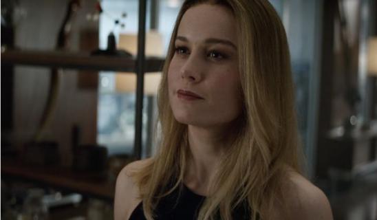 Kapitan Marvel - Brie Larson o scenie po napisach zapowiadającej Koniec gry