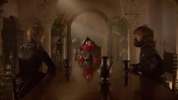 Gra o tron - Elmo z Ulicy Sezamkowej odwiedza Westeros. Zabawne wideo