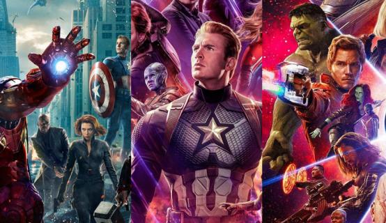 MCU - najlepsze filmy Marvela według użytkowników portalu IMDb