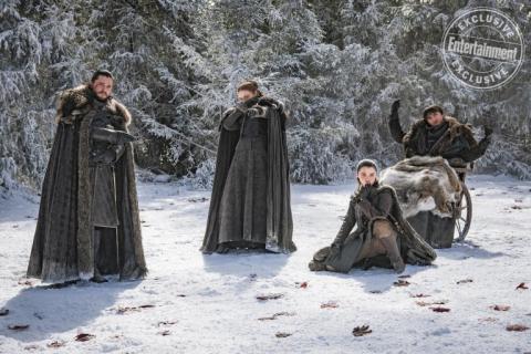 Gra o tron - nowe zdjęcia z planu 8. sezonu
