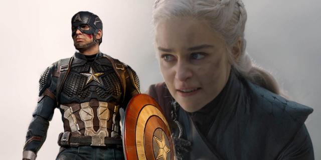 Gra o tron miała problem przez Avengers: Endgame? Ta figurka Capa podbija serca fanów MCU