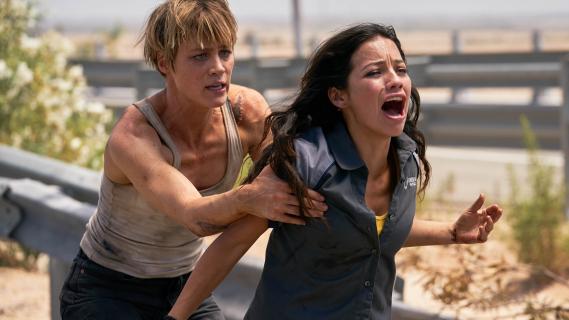 Terminator: Mroczne przeznaczenie - nowe zdjęcia. Kogo gra Schwarzenegger?