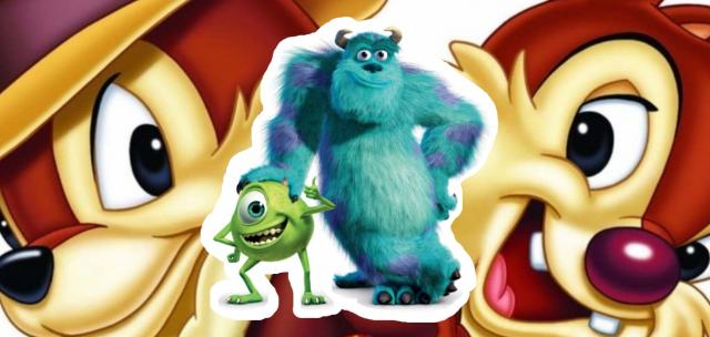 Chip i Dale trafią na Disney +. Pierwsze logo serialu Potwory i spółka