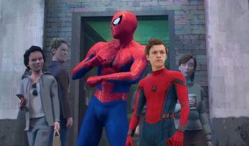 Tom Holland mógł zaliczyć cameo w Spider-Man Uniwersm. Jakby wyglądało?