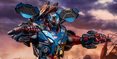 Avengers: Koniec gry - oto Iron Patriot, strażnik nieba. Zobacz zdjęcia figurki