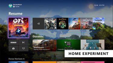 Microsoft testuje nową odsłonę Xbox One Home