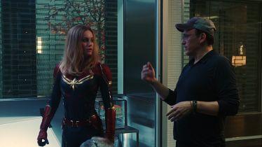 Avengers: Endgame - inny strój Kapitan Marvel na nowym szkicu koncepcyjnym z filmu