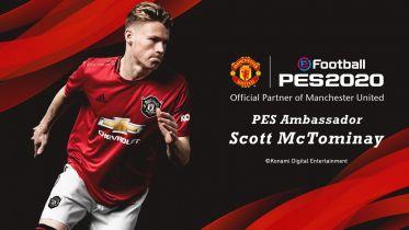 Manchester United partnerem eFootball PES 2020