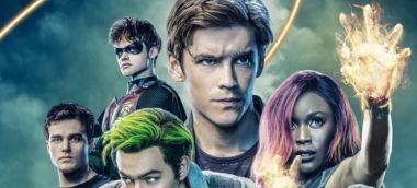 Titans - plakat 2. sezonu. Jest Deathstroke