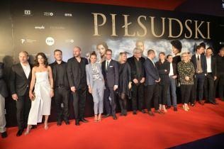 Piłsudski - byliśmy na uroczystej premierze. Zobacz wywiady z aktorami