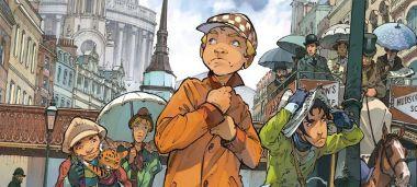 Czwórka z Baker Street #02: Sprawa Rabukina - recenzja komiksu