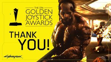 Golden Joystick Awards 2019 - Cyberpunk 2077 nagrodzony drugi rok z rzędu