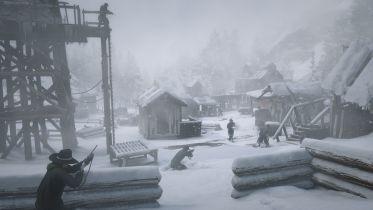 Red Dead Redemption 2 - nadchodzi zima? Mapa w trybie online może się zmienić