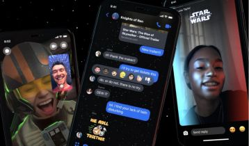 Star Wars w Facebook Messenger. Nowe efekty w klimacie Gwiezdnych wojen