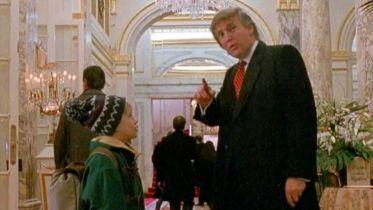 Kevin sam w Nowym Jorku - Donald Trump wycięty z emisji w kanadyjskiej tv. Jest oświadczenie