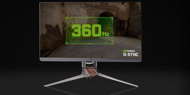 Nvidia na CES 2020 pokazała gamingowy monitor 360 Hz