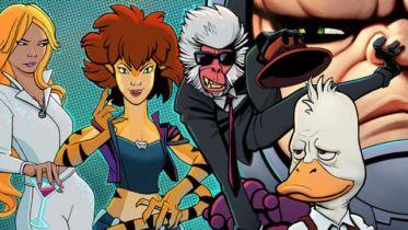Howard the Duck oraz Tigra & Dazzler - animacje anulowane przez Marvela