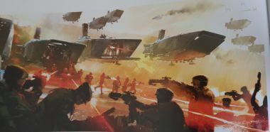 Star Wars 9 - wyciek szkiców. Świątynia Jedi, zamek Vadera, tortury i inne pomysły!