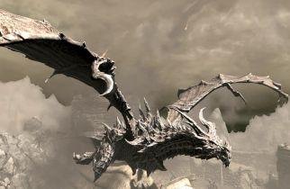 The Elder Scrolls V: Skyrim - świetna figurka Alduina w przystępnej cenie