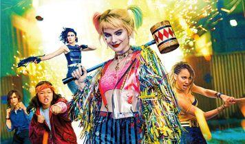 Harley Quinn w klasycznych kolorach i bardziej komiksowa Huntress na nowych szkicach