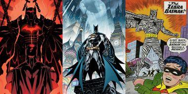 The Batman pokazał strój, ale w komiksach miał ich o wiele więcej. Znacie te najlepsze?