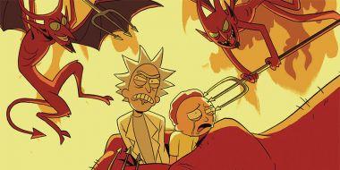 Rick i Morty trafią do piekła. Zapowiedziano nowy komiks z tymi bohaterami