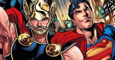 Nawet Marvel i DC się zgadzają... Kto wygrałby pojedynek Superman vs. Thor?