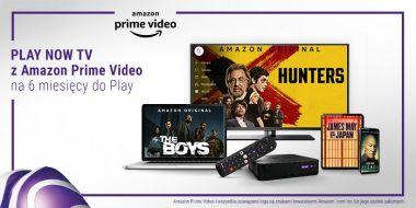 Play i Amazon Prime Video łączą siły. Platforma dostępna za darmo w promocji
