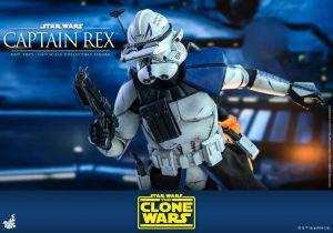 Gwiezdne Wojny: Wojny Klonów - Kapitan Rex z serialu jako kolekcjonerska figurka