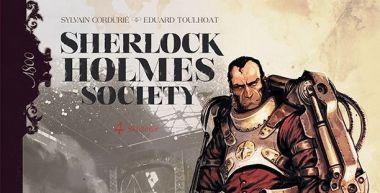 Sherlock Holmes Society. Skażenie. Tom 4 - recenzja komiksu