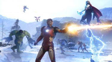 Marvel's Avengers – herosi, złoczyńca i sporo akcji. Zobacz screeny z gry