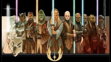 Gwiezdne wojny - zapowiedź zupełnie nowego miecza świetlnego. Ahmed Best jako mistrz Jedi