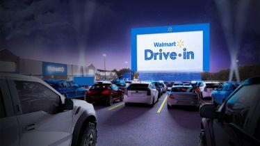 Walmart zamieni parkingi w kina samochodowe