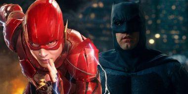 Flash - nowy kostium superbohatera. Zobacz go z Batmanem Keatona!