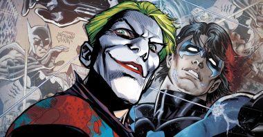 Joker zupełnie zmienił genezę Nightwinga. Kochający rodzice stali się... alkoholikami