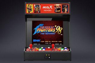 Ten pełnowymiarowy automat pozwoli zagrać w 50 gier z Neo Geo