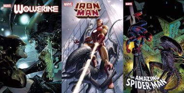 Avengers i inni vs. Obcy. Ksenomorfy nadciągają do uniwersum Marvela!