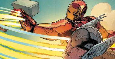 Marvel - Iron Man grzmotnął Thora Mjolnirem. Tak się kończą żarty ze Starka