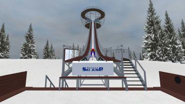 Deluxe Ski Jump 4 z nową aktualizacją po latach! W grze stworzymy własne skocznie