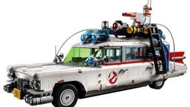 Pogromcy duchów. Dziedzictwo - tak prezentuje się ECTO-1 w nowym zestawie od LEGO