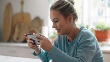 Brie Larson zachęca do zakupu konsoli Nintendo Switch
