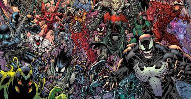 Wszystkie symbionty Marvela na jednej okładce. Oto Knull w swojej najupiorniejszej wersji