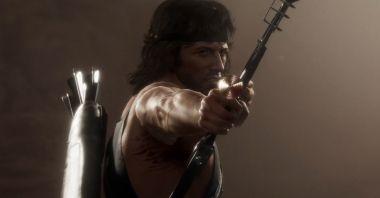 Mortal Kombat 11 - Rambo bezlitośnie obija Terminatora. Zobaczcie efektowny gameplay