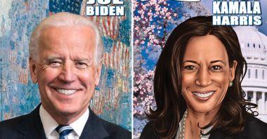 Joe Biden zostanie dziś prezydentem USA. Popkultura wita go tym komiksem