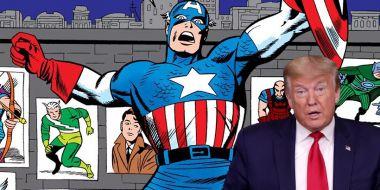 Syn Jacka Kirby'ego ostro uderza w Trumpa po ataku na Kapitol. Poszło o symbol Kapitana Ameryki