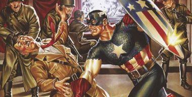 Kapitan Ameryka kończy 80 lat. Kapitalne okładki - uniwersum salutuje staruszkowi