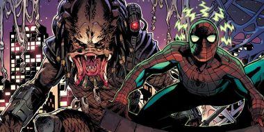 Predator vs. Marvel. Kosmiczny łowca poluje na herosów na nowych okładkach