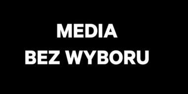 Czarna plansza w tv 10.02.2021 - o co chodzi w proteście Media bez wyboru?