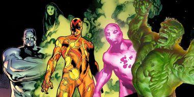 Marvel, wersja najbrutalniejsza. Hulk pobity tak mocno, że skóra oddzieliła się od kości